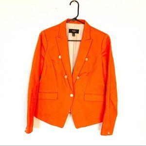 Mango blazer in orange size medium